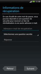 HTC One S - Applications - Configuration de votre store d