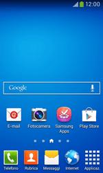 Samsung Galaxy Ace III - Operazioni iniziali - Installazione di widget e applicazioni nella schermata iniziale - Fase 2