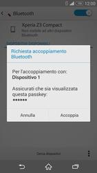 Sony Xperia Z3 Compact - Bluetooth - Collegamento dei dispositivi - Fase 7