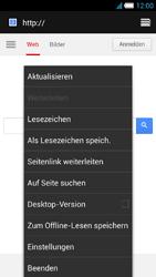 Alcatel One Touch Idol S - Internet und Datenroaming - Verwenden des Internets - Schritt 19