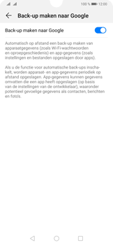 Huawei P30 - Data - maak een back-up met je account - Stap 7