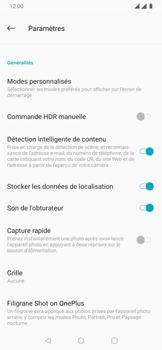 OnePlus 7 - Photos, vidéos, musique - Créer une vidéo - Étape 8