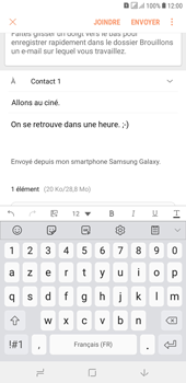 Samsung Galaxy J4+ - E-mails - Envoyer un e-mail - Étape 18