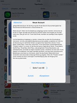 Apple iPad Mini 4 - Apps - Konto anlegen und einrichten - 20 / 35
