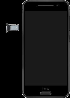HTC One A9 - SIM-Karte - Einlegen - 0 / 0