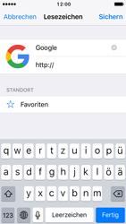 Apple iPhone 5 iOS 10 - Internet und Datenroaming - Verwenden des Internets - Schritt 7