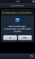 Samsung Wave 3 - Fehlerbehebung - Handy zurücksetzen - 9 / 10