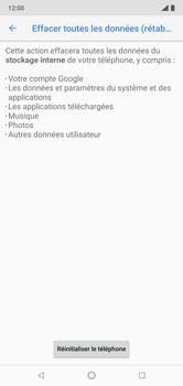 Nokia 7.1 - Aller plus loin - Restaurer les paramètres d'usines - Étape 7