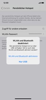 Apple iPhone X - iOS 14 - WiFi - So aktivieren Sie einen WLAN-Hotspot - Schritt 7