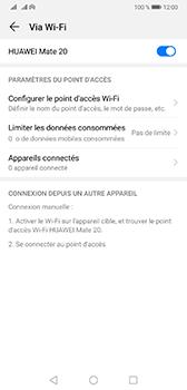 Huawei Mate 20 - Internet - comment configurer un point d'accès mobile - Étape 10