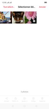 Oppo A9 2020 - Photos, vidéos, musique - Envoyer une photo via Bluetooth - Étape 9