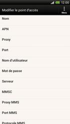 HTC S728e One X Plus - MMS - Configuration manuelle - Étape 8