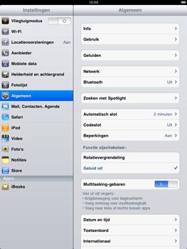 Apple iPad 2 - Bluetooth - koppelen met ander apparaat - Stap 5