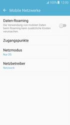 Samsung J510 Galaxy J5 (2016) - Netzwerk - Netzwerkeinstellungen ändern - Schritt 7