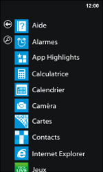 Nokia Lumia 800 - Photos, vidéos, musique - Créer une vidéo - Étape 3