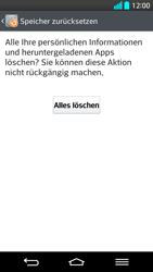 LG G2 - Fehlerbehebung - Handy zurücksetzen - Schritt 10