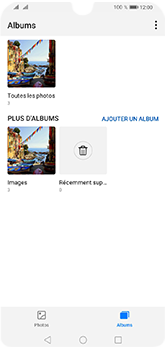 Huawei Y5 (2019) - Photos, vidéos, musique - Envoyer une photo via Bluetooth - Étape 4