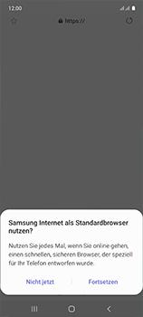 Samsung Galaxy A51 - Internet und Datenroaming - Verwenden des Internets - Schritt 5