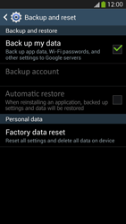 Samsung Galaxy S 4 Active - Mobile phone - Resetting to factory settings - Step 6