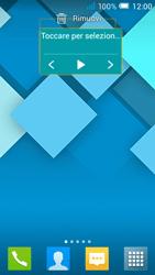 Alcatel Pop C7 - Operazioni iniziali - Installazione di widget e applicazioni nella schermata iniziale - Fase 7