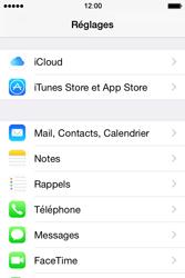 Apple iPhone 4S (iOS 8) - E-mails - Ajouter ou modifier un compte e-mail - Étape 3