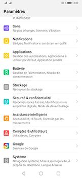 Huawei Mate 20 Pro - Aller plus loin - Restaurer les paramètres d'usines - Étape 3