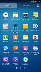 Samsung Galaxy S 4 Mini LTE - Operazioni iniziali - Installazione di widget e applicazioni nella schermata iniziale - Fase 6