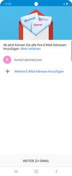 Samsung Galaxy Z flip - E-Mail - Manuelle Konfiguration - Schritt 22