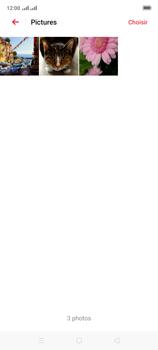 Oppo A9 2020 - Photos, vidéos, musique - Envoyer une photo via Bluetooth - Étape 8