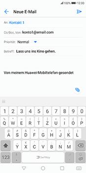 Huawei Mate 10 Lite - E-Mail - E-Mail versenden - 8 / 17
