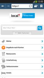Samsung Galaxy S 4 Mini LTE - Internet und Datenroaming - Verwenden des Internets - Schritt 13