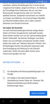 Samsung Galaxy Note9 - Apps - Konto anlegen und einrichten - 15 / 22