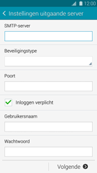 Samsung G800F Galaxy S5 Mini - E-mail - Account instellen (IMAP met SMTP-verificatie) - Stap 12