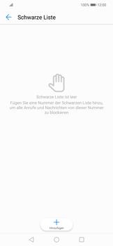Huawei Mate 20 Lite - Anrufe - Anrufe blockieren - 7 / 12