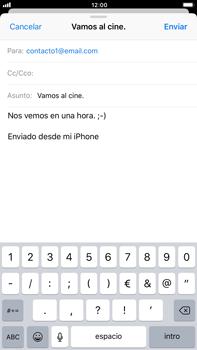 Apple iPhone 8 Plus - E-mail - Escribir y enviar un correo electrónico - Paso 8
