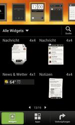 HTC One SV - Startanleitung - Installieren von Widgets und Apps auf der Startseite - Schritt 4