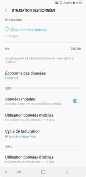 Samsung Galaxy A7 (2018) - Internet - configuration manuelle - Étape 7