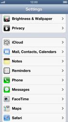Apple iPhone 5 - E-mail - manual configuration - Step 7