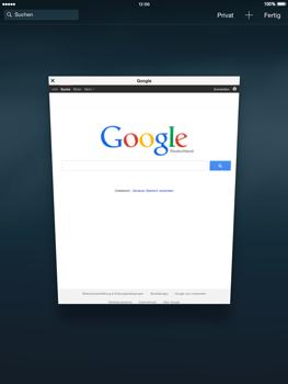 Apple iPad mini iOS 8 - Internet und Datenroaming - Verwenden des Internets - Schritt 16
