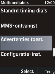 Nokia C2-05 - MMS - probleem met ontvangen - Stap 11