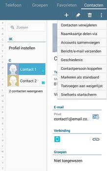 Samsung Galaxy Tab4 8.0 4G (SM-T335) - Contacten en data - Contacten overzetten via Bluetooth - Stap 5