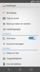 Sony Xperia M2 - software - update installeren zonder pc - stap 4