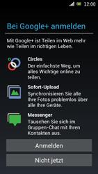 Sony Ericsson Xperia Ray mit OS 4 ICS - Apps - Konto anlegen und einrichten - Schritt 11