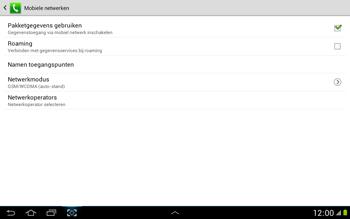 Samsung N8000 Galaxy Note 10-1 - Internet - Handmatig instellen - Stap 7