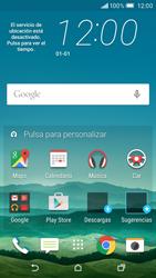 HTC One M9 - Primeros pasos - Quitar y colocar la batería - Paso 1