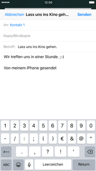 Apple iPhone 6s Plus - E-Mail - E-Mail versenden - 1 / 1