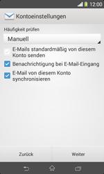Sony Xperia E1 - E-Mail - Konto einrichten - Schritt 16