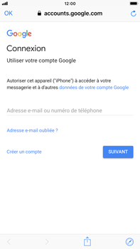 Apple iPhone 6 Plus - iOS 12 - E-mail - Configuration manuelle (gmail) - Étape 6