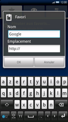 Sony Xperia X10 - Internet - Navigation sur Internet - Étape 7