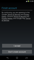 Sony Xperia Z1 Compact - Applications - Setting up the application store - Step 15